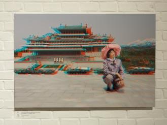 RI GYONG SUN, 45, Maintaining Ancient History Section, Folk Park Pyongyang.