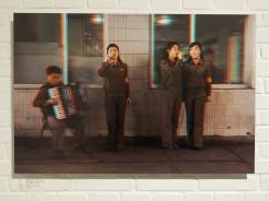 Accordionist + Singers, Chollima Steelworks.