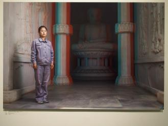 KIM UN GYONG, 30, Maintaining Ancient History Section, Folk Park Pyongyang