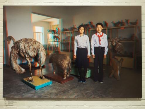 O KYONG JU, 16 + CHA GUM SONG, 15, Kim Jong Suk Middle School.