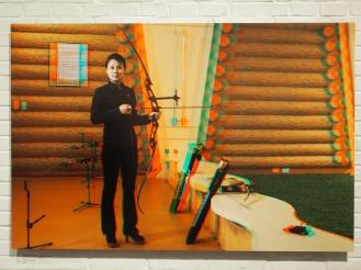 JON HYON MI, 24, Casino Service Lady, Meari Shooting Range Archery Room.