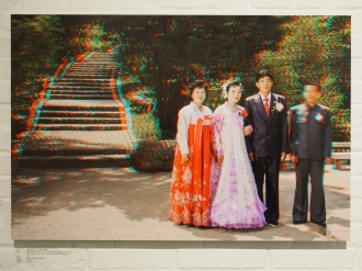 KIM YONG IL, Groom, 30 + RI HYON A, Bride, 26, Tonghungsan Park, Hamhung