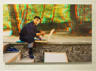 PAK SONG CHOL, 20, Student Art Teacher, Sokgwang Temple