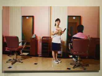 PAK UN GYONG, 33, Hairdresser, Munsu Wading Complex