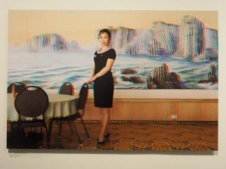 KIM UN HYANG, 24, Waitress, Dongmyong Hotel, Wonsan