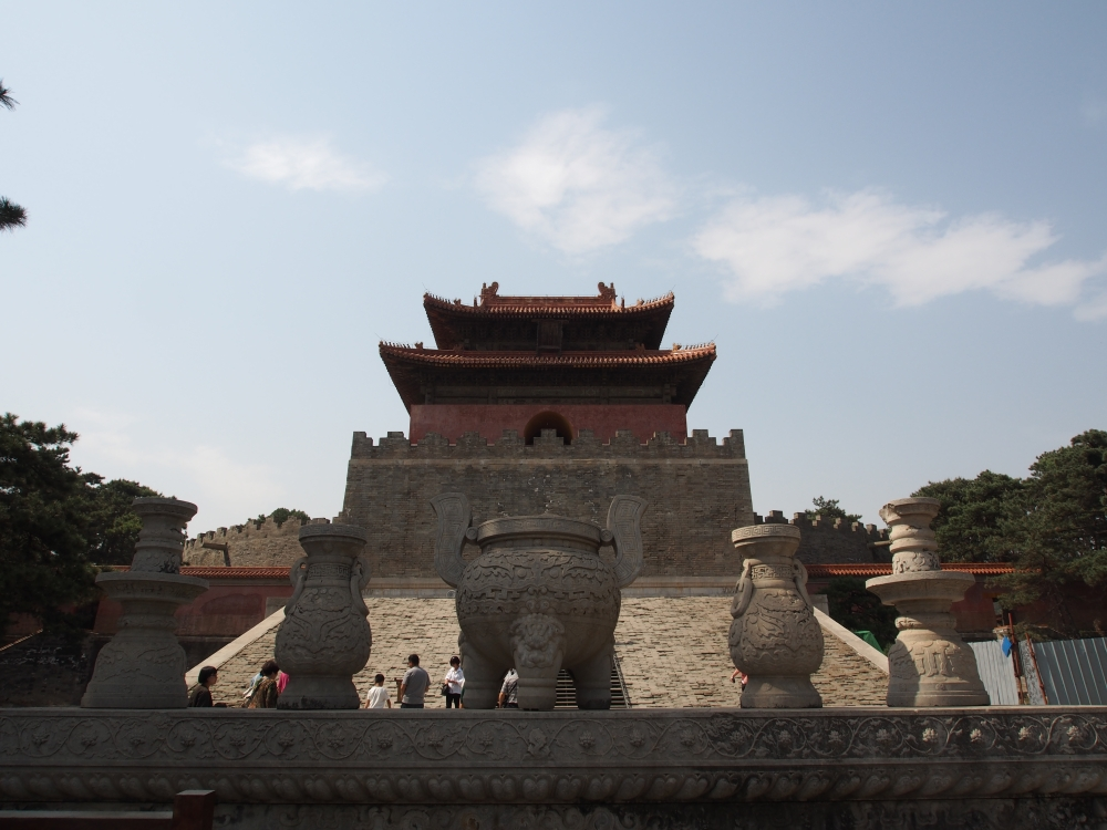 The Eastern Qing Tombs.