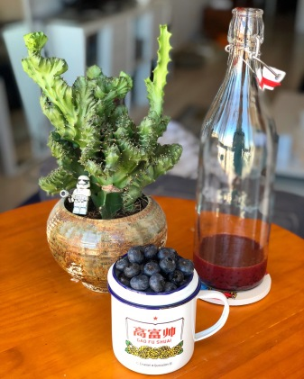 Blueberry Kombucha
